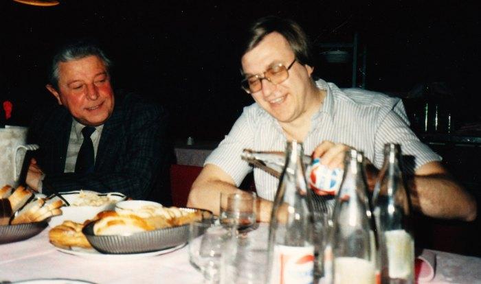 Dertig jaar geleden: slotdiner inMoscou