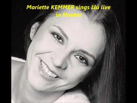 Veertig jaar geleden: Mariette Kemmer in Belcantowedstrijd van deBRT