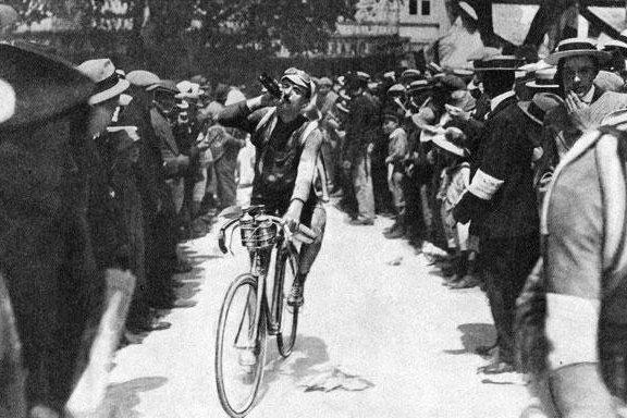 110 jaar geleden: Gustave Garrigou wint eerste (nou ja)Parijs-Brussel
