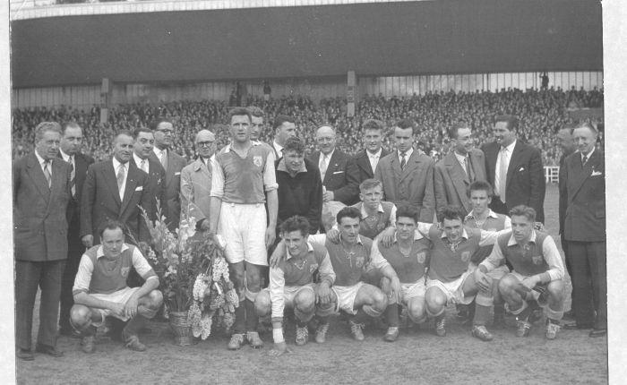 65 jaar geleden: Anderlecht onderuit in allereerste Europese beker voorlandskampioenen