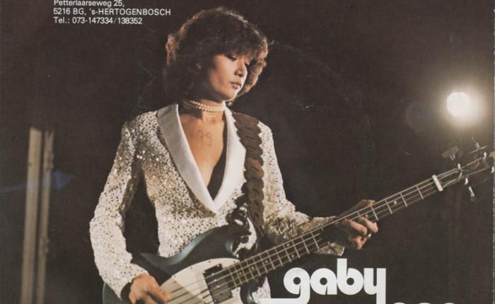 """Dertig jaar geleden: Gaby Lang in """"Mijn grote liefde heetmuziek"""""""