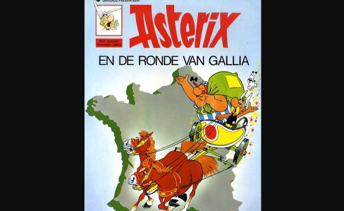 De prilste geschiedenis van het wielrennen inBelgië