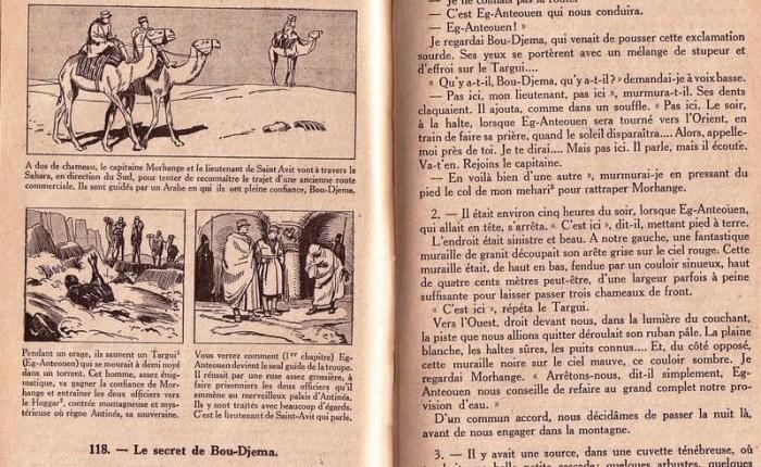 """Honderd jaar geleden: """"L'Atlantide"""" van Pierre Benoit(1886-1962)"""