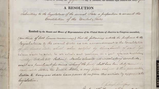 155 jaar geleden: afschaffing van de slavernij in deVS