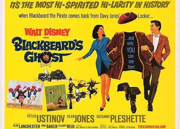 """Vijftig jaar geleden: première van """"Blackbeard's ghost"""""""
