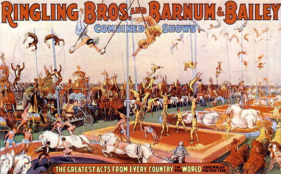 15 ringling bros and barnum and bailey