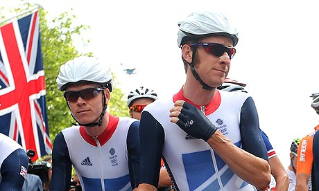 Chris Froome Bradley Wiggins