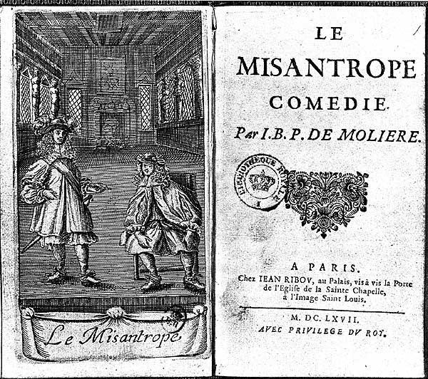 """45 jaar geleden: """"Le misanthrope"""" door hetNTG"""