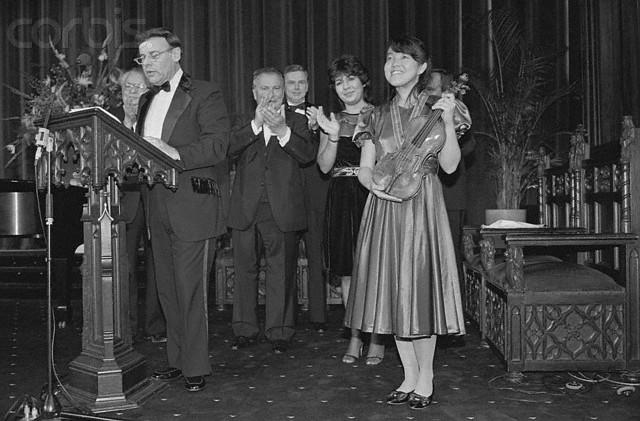 Veertig jaar geleden: concert van Peter Zazofsky en MichaeleMartin