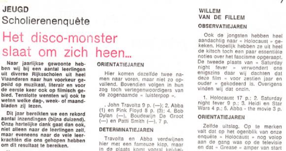 Scholierenpoll 1978