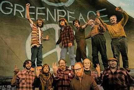 45 jaar geleden: eerste actie vanGreenpeace