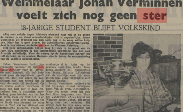 Johan Verminnen: Ontdek deSter!