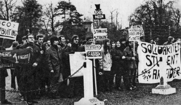 """Vlaamse Communistische Studenten in Gent: """"Een democratische reputatieopbouwen"""""""