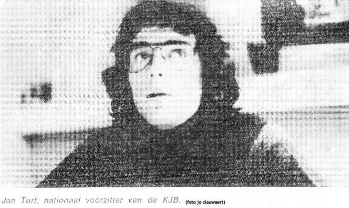 Veertig jaar geleden: Jan Turf, de nieuweKJB-voorzitter