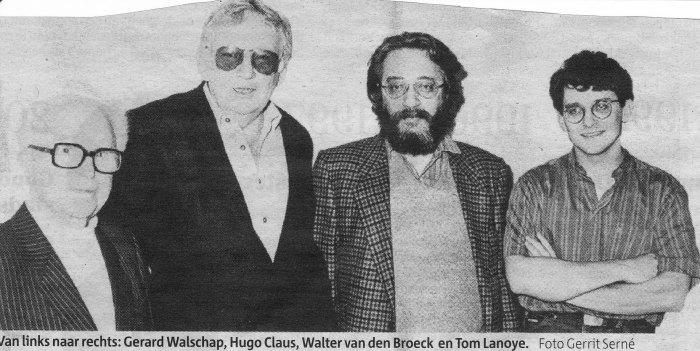 Walter Van den Broeck wordt75…
