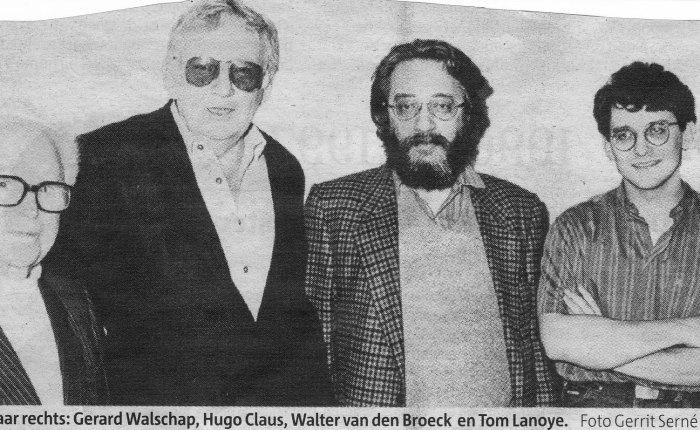 Walter Van den Broeck wordttachtig…