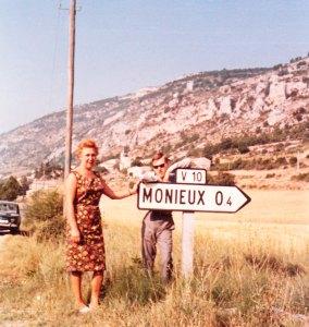 Vijftig jaar geleden: eerste vakantie inMonieux