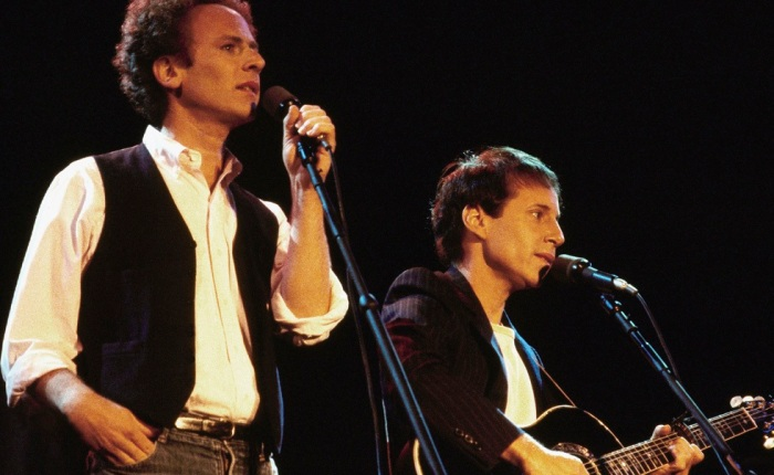 Simon & Garfunkel in Central Park