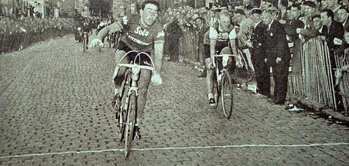 55 jaar geleden: Jos Wouters wintParijs-Tours