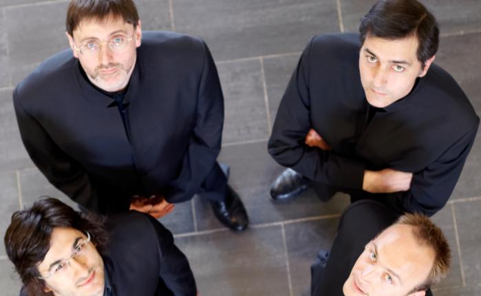 25 jaar geleden: het Quatuor Danel in het Museum voorSierkunst