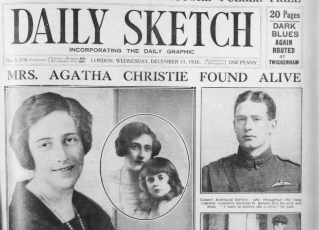 95 verdwijning agatha christie in 1926