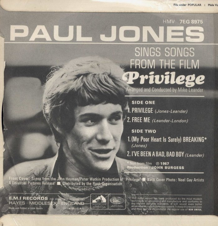 Paul Jones wordt 75…