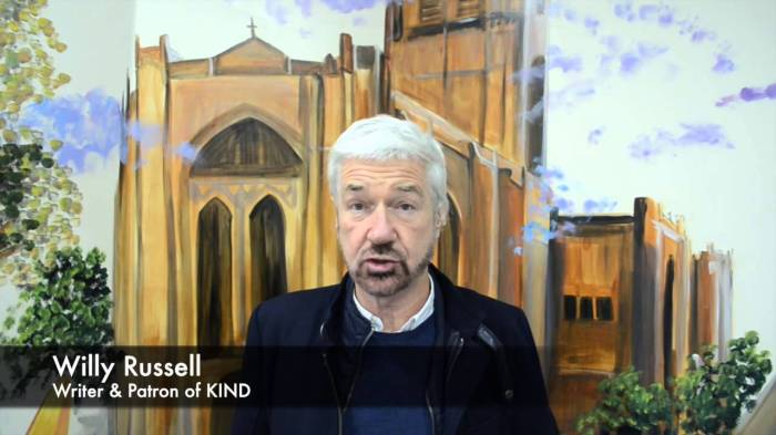 Willy Russell wordtzeventig…