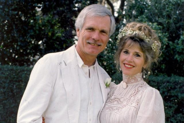 25 jaar geleden: Jane Fonda trouwt met mediamagnaat TedTurner