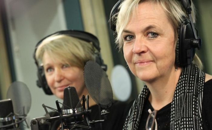 Verboden te lachen met Lieve Blancquaert en AnnemieStruyf