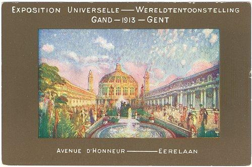 75 wereldtentoonstelling gent 1913