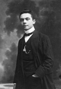 1910? Retorica, 19 jaar.