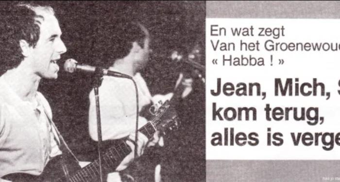 """Habba"": Jean, Mich, Stoy, kom terug, alles isvergeven"