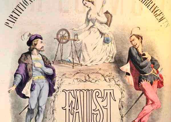 """160 jaar geleden: """"Ze herkende Satan in Mefistofeles"""""""