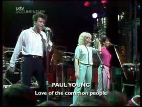 35 jaar geleden: Paul Young inHammersmith