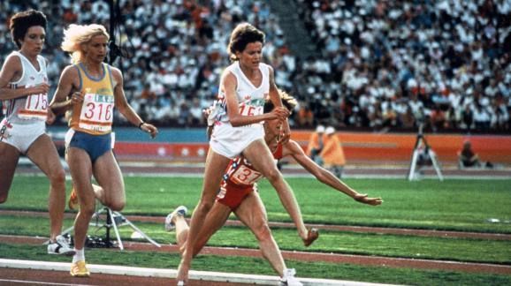 35 jaar geleden: Zola Budd brengt Mary Decker tenval…