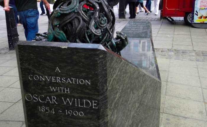 Oscar Wilde eindelijk in erehersteld…
