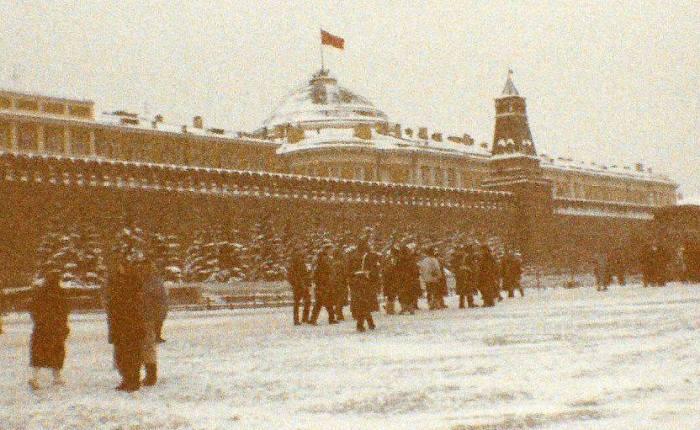 Dertig jaar geleden: bezoek aan deSovjetunie