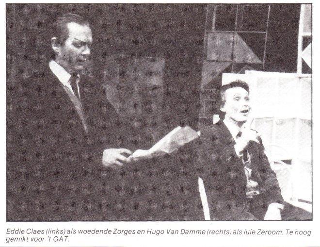 73 Eddie Claes en Hugo Van Damme