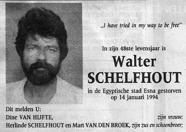 Walter Schelfhout (1948-1994)