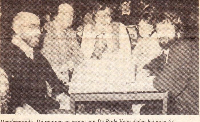 35 jaar geleden: De Rode Vaan wint schiftingsronde van het Dendermondsquiztornooi