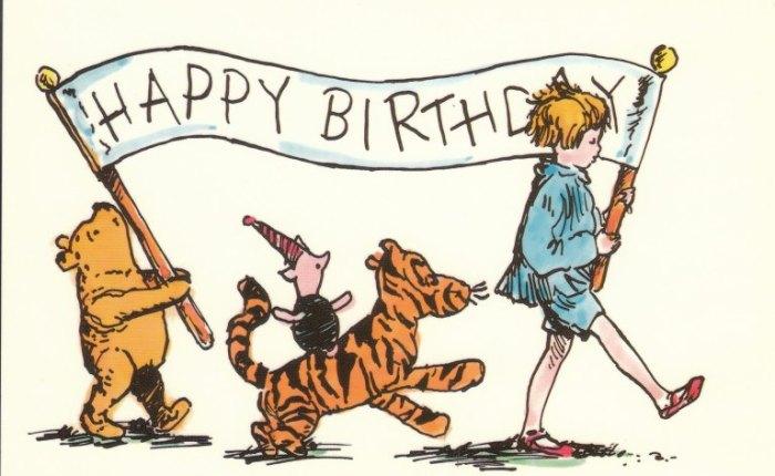 Winnie-the-Pooh wordt negentig…