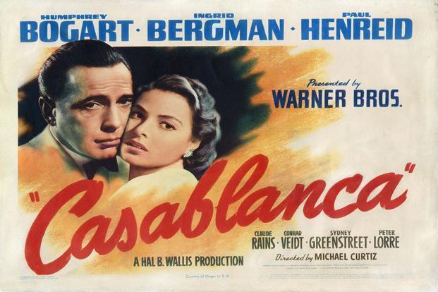 "75 jaar geleden: ""Casablanca"" groteoscarwinnaar"
