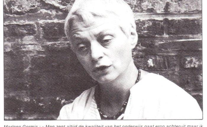 35 jaar geleden: interview met Marlene Germis over de start van hetschooljaar