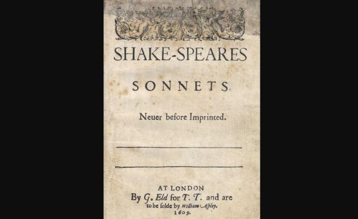 De sonnetten van WilliamShakespeare