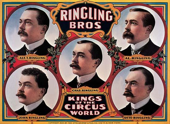 135 jaar geleden: The Ringling Brothers stichten eencircus