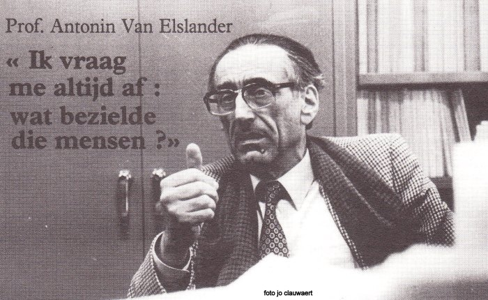 Antonin Van Elslander(1921-1999)