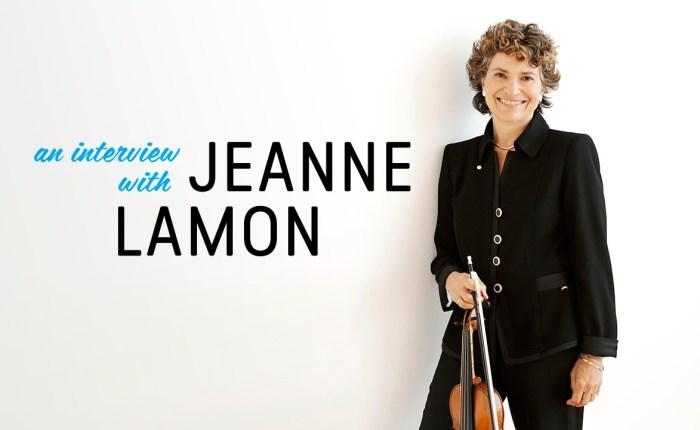 Jeanne Lamon wordtzeventig…
