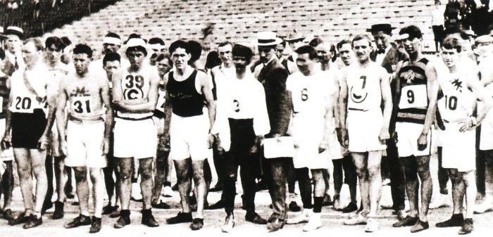 De Olympische marathon van Saint-Louis1904