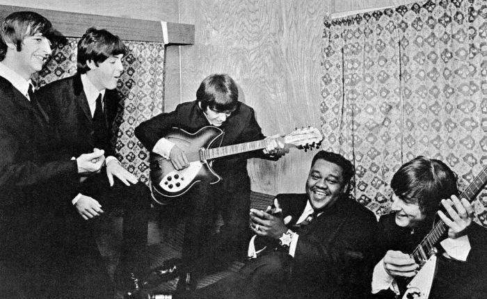 55 jaar geleden: The Beatles ontmoeten FatsDomino…