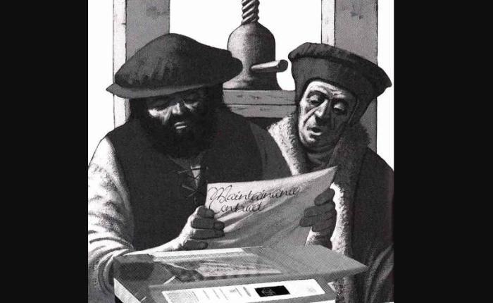 De Gutenbergbijbel is 565 jaaroud